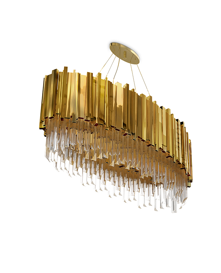 Empire Oval Suspension China Creative Chandelier